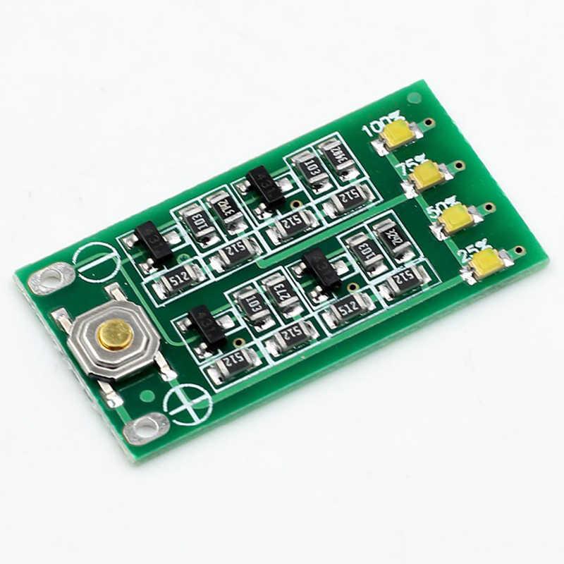 FULL-3S 11.1 فولت 12 فولت 12.6 فولت بطارية ليثيوم قدرة مؤشر وحدة يبو ليثيوم أيون مستوى الطاقة عرض مجلس 3 سلسلة 9-26 فولت