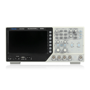 Image 3 - Hantek DSO4102CดิจิตอลOscilloscope USB 100MHz 2 ช่องสัญญาณLCDแสดงผลคลื่นรูปแบบ