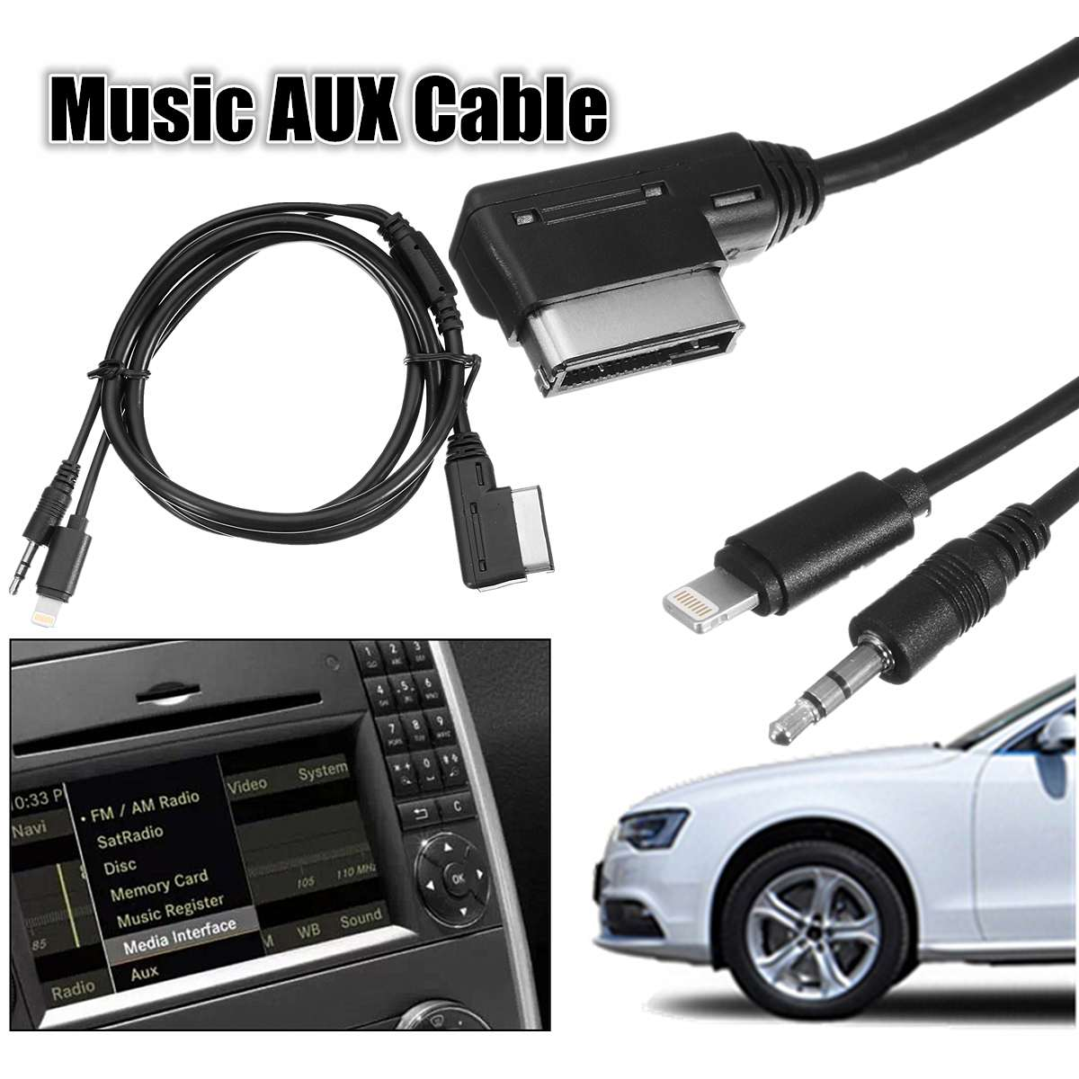 best top 10 mercedes aux cable ideas and get free shipping