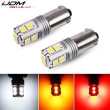 IJDM-luces led de estacionamiento para coche, luz blanca para matrícula, BAY9S, H21W, Canbus, BA9s, ba29s, T4, H6W, 12V, 24V