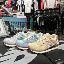 Nuevo Balance el 574 de las mujeres zapatos de moda Zapatos de zapato de  correr zapatillas 52dde7aa1ef0