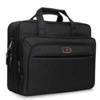 Men's Handbags Business Briefcase Large Capacity Men Single Shoulder Bag 14 15 16 Laptop Bag For HP Dell Lenovo Apple Ipad