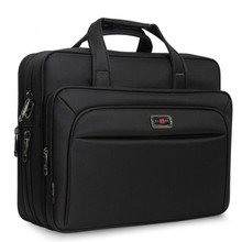 """حقائب رجال الأعمال حقيبة سعة كبيرة الرجال حقيبة الكتف واحدة 14 """"15.6"""" 16 """"حقيبة كمبيوتر محمول ل HP ديل لينوفو أبل باد"""