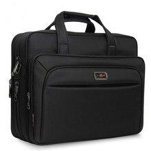 "Mens Handbags Business Briefcase Large Capacity Men Single Shoulder Bag 14"" 15.6"" 16"" Laptop Bag For HP Dell Lenovo Apple Ipad"