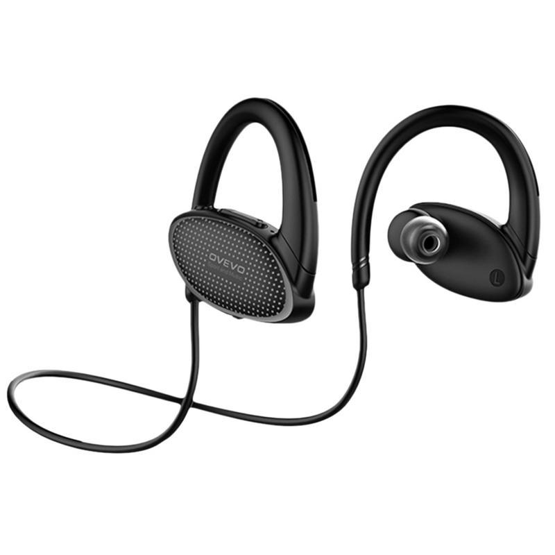 OVEVO X9 8G MP3 Bluetooth casque intra-auriculaire Portable écouteur IPX7 étanche natation Sport Super basse HiFi oreille crochet avec micro