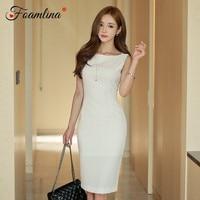 6f671411a740e Foamlina Elegant Women Lace Bodycon Dress Summer Fashion O Neck Short  Sleeve Floral Ladies Ruffles Mermaid Party