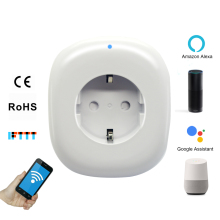 German Type F Plug WIFI Smart Socket Energy Monitor Power Wifi For Amazon Alexa Echo Google Assistant Home IFTTT