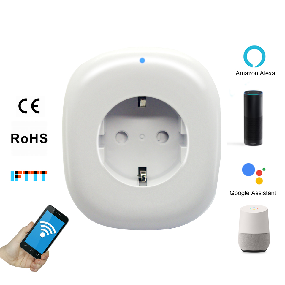 Wi Fi Wifi Wlan Smart Plug Socket Outlet Energy Monitor Meter Wattmeter For