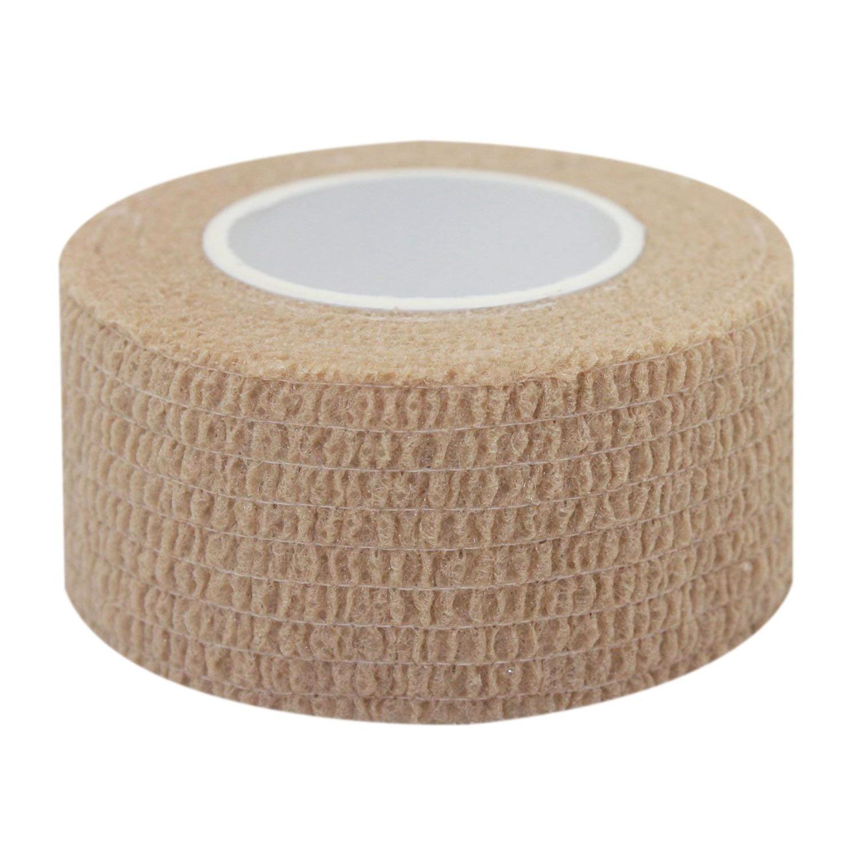 Lgfm-zelfklevende Stok Lijm Bandage Latex 1 Inch Bandage Stretching Wrap Veterinaire Tape Voor Pols Enkelletsel En Swel