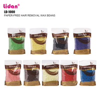 Lidan Wax Paper Hair Removal Wax Beans 1000g 8 Kinds of Flavor Solid Wax Particles Stimulate Turpentine Followers +3% discount