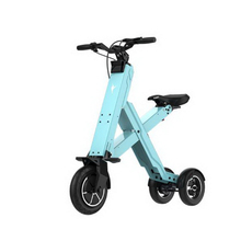 310435/Smart electric car / folding scooter balance lithium battery car 36v 8 inch/Ten seconds cruise/Endurance 50 KM three wheels smart electric scooter hoverboard drift car mini drift vehicle 36v lithium battery electric car gift for kids new