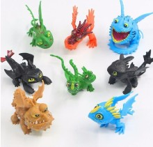 How To Train Your Dragon 2 Night Fury Toothless Action Figures Toys Pvc Brinquedos Kids