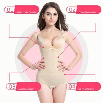 Women Post Natal Postpartum Slimming Underwear Body Shaper Recover Bodysuits Shapewear Waist Corset Girdle Black Khaki Lingerie 5