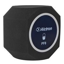 Alctron pf8 simples studio mic tela de filtro acústico desktop gravação microfone redução ruído tela vento