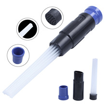 EAS-Vacuum Cleaner Dust Dirt Remover Universal Attachment Interface Tool for Air Vents Keyboards Drawers Plants Dust Cleaning цена