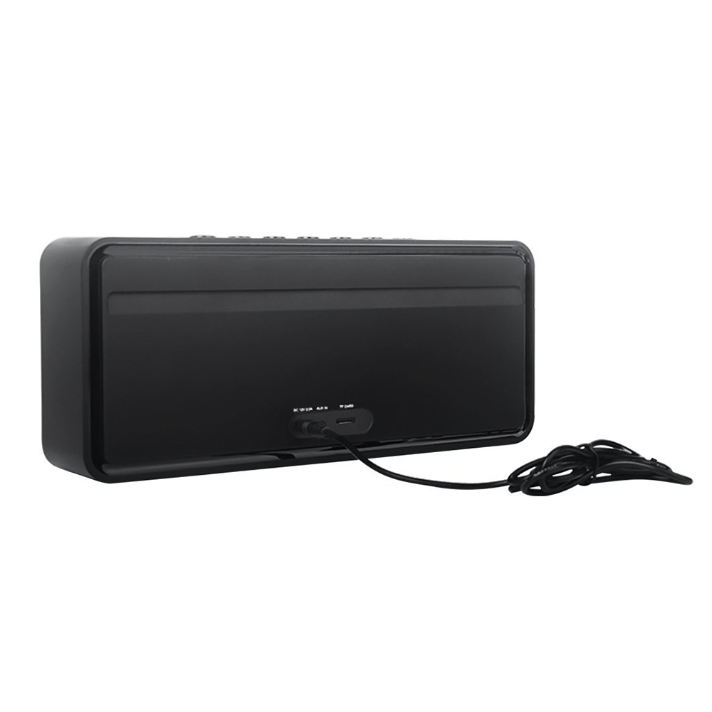 Doss DS 1685 portátil sem fio bluetooth soundbar alto falante som estéreo de alta qualidade 3.5mm entrada áudio aux subwoofer - 3