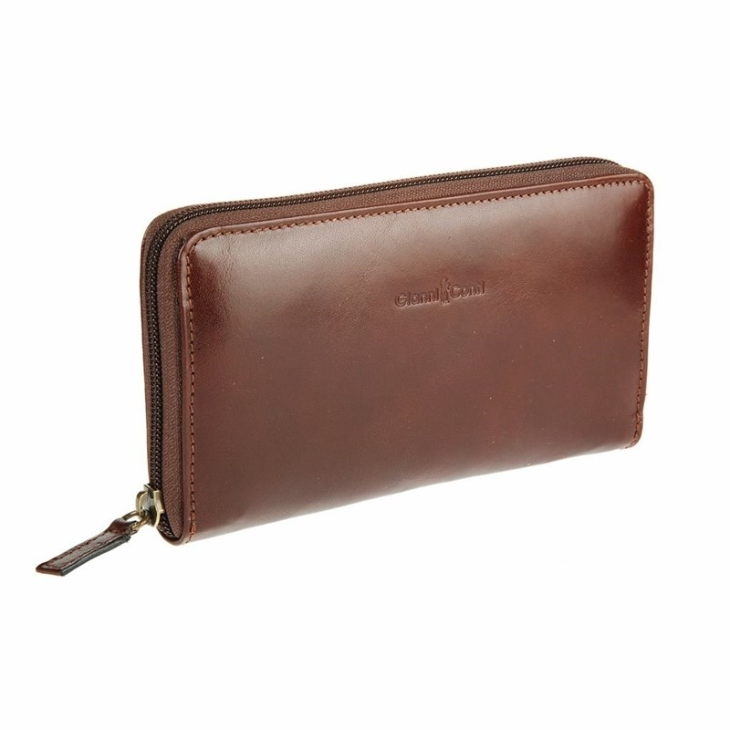 Coin Purse Gianni Conti 908106 Brown wholesale 2016 cheap pet eye women coin wallet male purse mini bag kids coin purse pouch women wallets coins bags high quality
