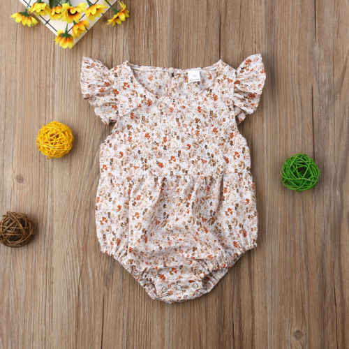 Family Matching Outfits ฤดูร้อนทารกแรกเกิดสาว Sister เสื้อผ้าชุด Romper Jumpsuit