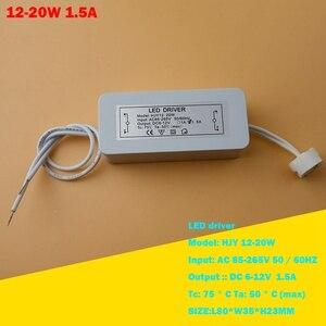Image 5 - LED Driver אלקטרוני שנאי 3 W 36 W AC85 265V כדי DC12V מנורת כוס MR16 G4 MR11 GU5.3 הנורה זרקור גבוהה כוח ממיר JQ