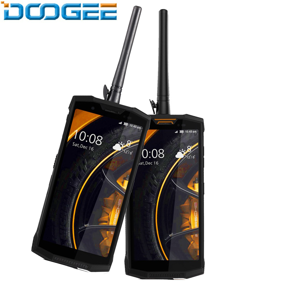 Doogee S80 Ip68 étanche 5.99 ''18:9 Ips téléphone Mobile 10080 mah 12v2a 6 gb 64 gb Octa Core Smartphone 16.0mp caméra frontale Fhd +
