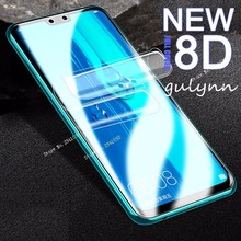 8D Full Screen Cover Hydrogel Film For Huawei P30 Pro Lite Y 5 6 7 9 Prime Protective On The Nova 3i 4 Not Glass