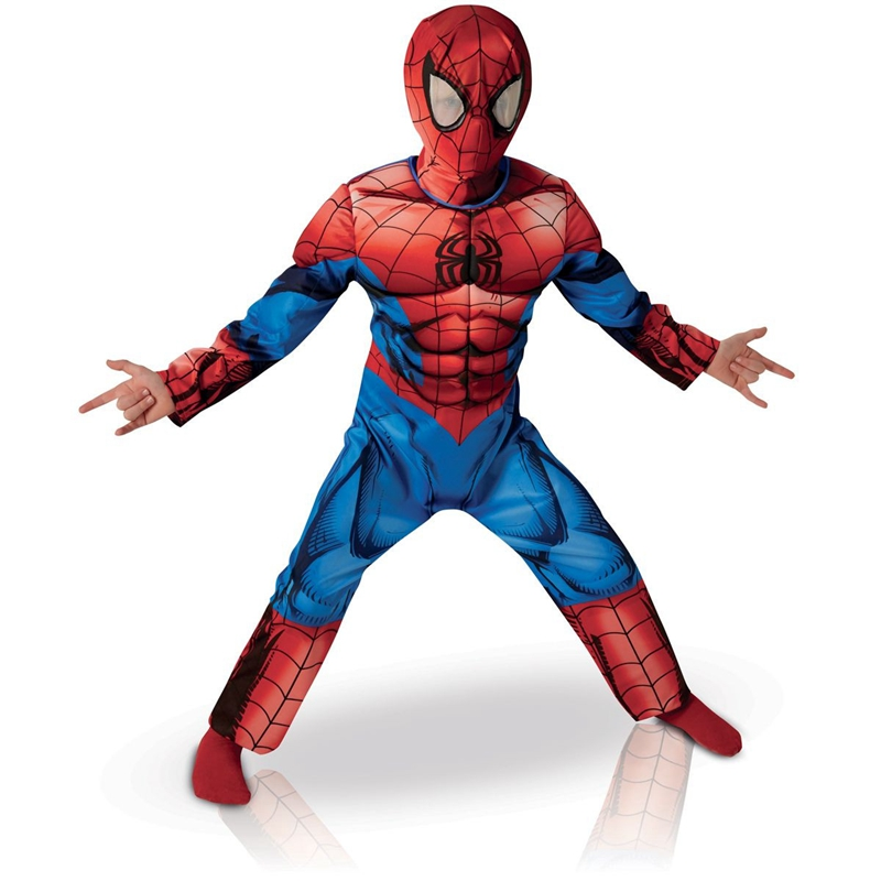 Boy Superhero Spiderman Halloween Cosplay