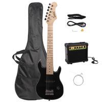30 Inch Mini Electrica Guitar Musical Instruments Knob Ukulele Bass Guitarra With Maple Fingerboard Shoulder Strap Plectrum