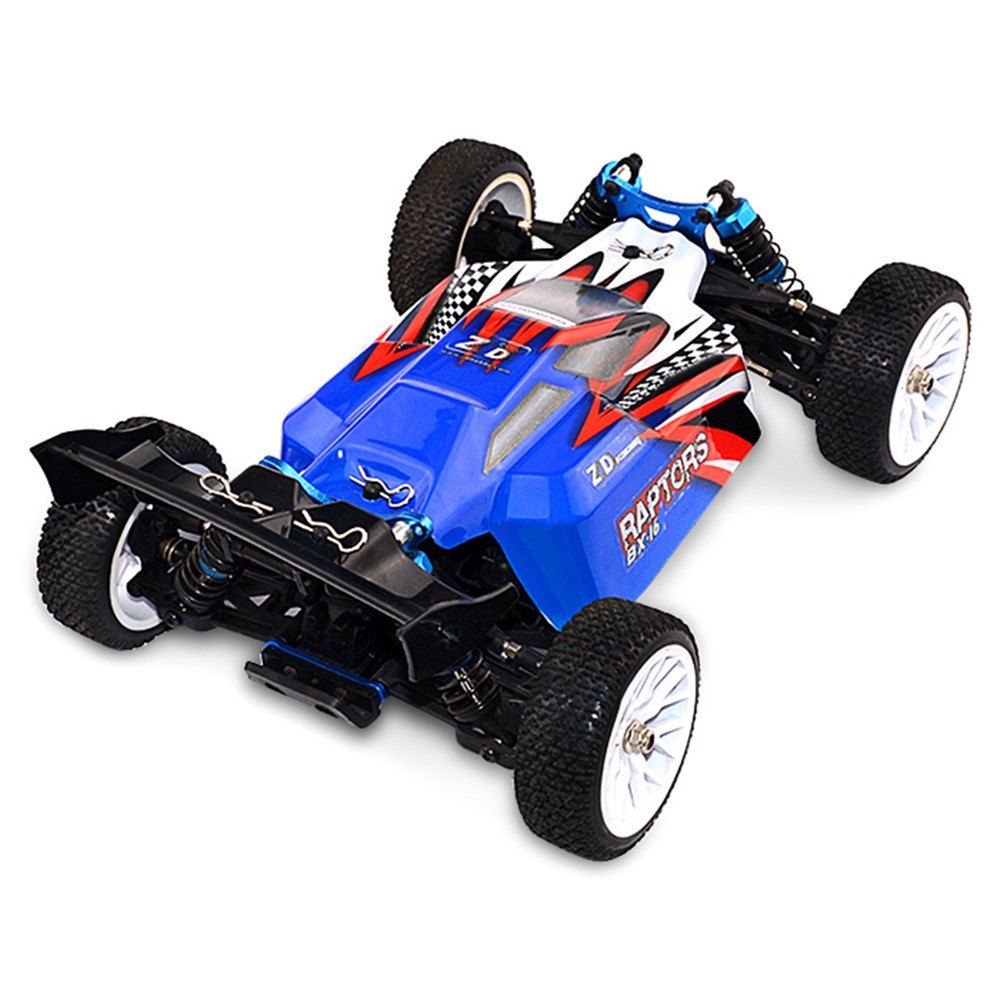 ZD Racing RAPTORS BX-16 9051 1/16 2.4G 4WD 55km/h Brushless Racing RC Car Off-Road Buggy RTR Toys Red Blue Models Kids Gift  - buy with discount