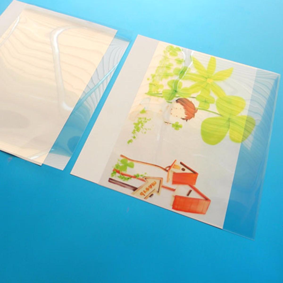20 листов трафаретной печати прозрачность струйной пленки бумага PCB шаблон для печати дизайн струйной пленки сохраняет толщину чернил 0,12 мм