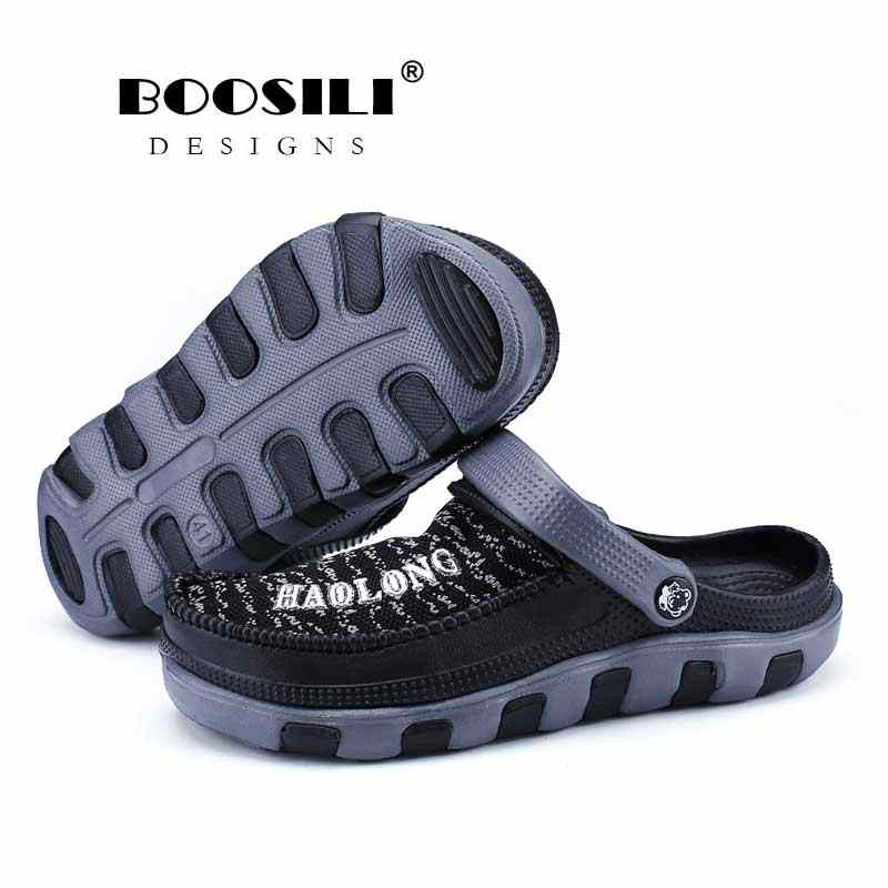 2020 Erkek Terlik Offerta Speciale di trasporto libero di Vibrazione di trasporto di Cadute di Pantofole Da Uomo Sandalias Hombre Nuovi Uomini di Volo Tessuto di Arte Superiore Sandali di Modo