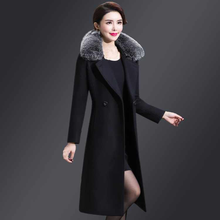 c2a12b652fa Detail Feedback Questions about 5Xl 2018 New Winter Women Long Wool ...
