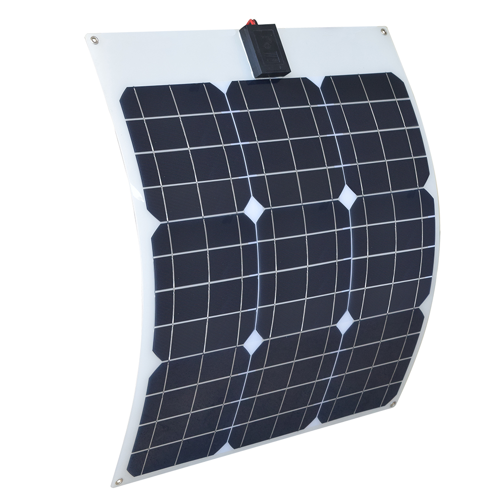 Boguang 18v 40w semi-flexible soalr panel Monocrystalline Silicon Solar Panels China 18V Quality Battery