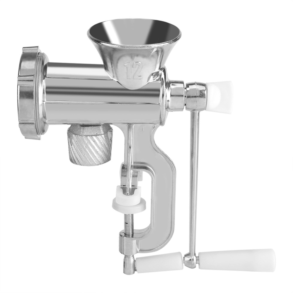 Mincer Sausage-Maker Meat-Grinder Chopper Kitchen-Tool Manual Stainless-Steel New Home