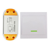 1Way Port ON/OFF Wireless Digital RF LED Remote Control Switch Receiver Transmitter For Light Lamp