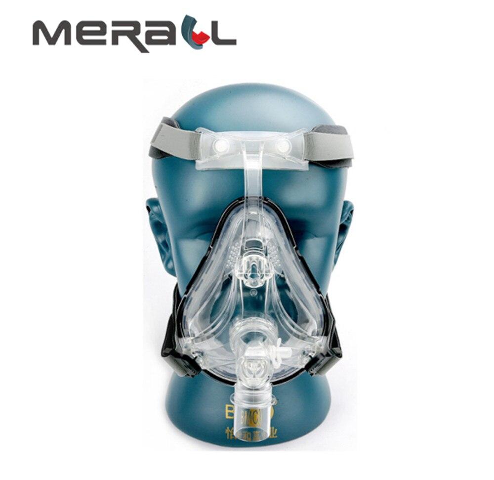 Masque CPAP masque de sommeil médical Anti ronflement masque Auto visage complet avec couvre-chef gratuit pour l'apnée du souffle OSAHS OSAS les gens aident à dormir