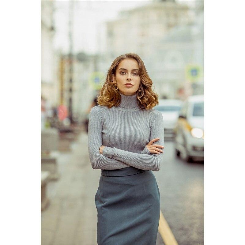 Turtleneck C.H.I.C female CHIC turtleneck cold shoulder jumper dress