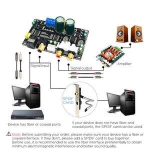 Image 5 - Décodeur audio coaxial optique CIRMECH CS8416 CS4398 puce 24BIT192KHz SPDIF carte de décodage DAC à fibres optiques coaxiales pour amplificateur