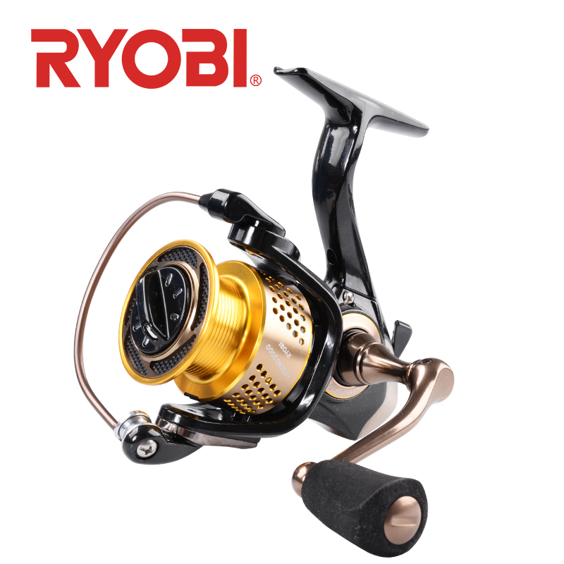 <font><b>RYOBI</b></font> LEGEND Fishing reel spinning reels <font><b>1000</b></font> 2000 3000 4000 5000 6000 5.1:1/5.0:1 Gear Ratio 6BB MAX DRAG 7.5kg waltwater wheel image