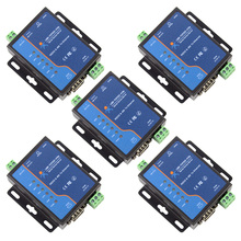 5x USR-TCP232-410s ModBus RTU Converters support DNS DHCP RS232 RS485 SERIAL TO ETHERNET TCP/IP MODULE image