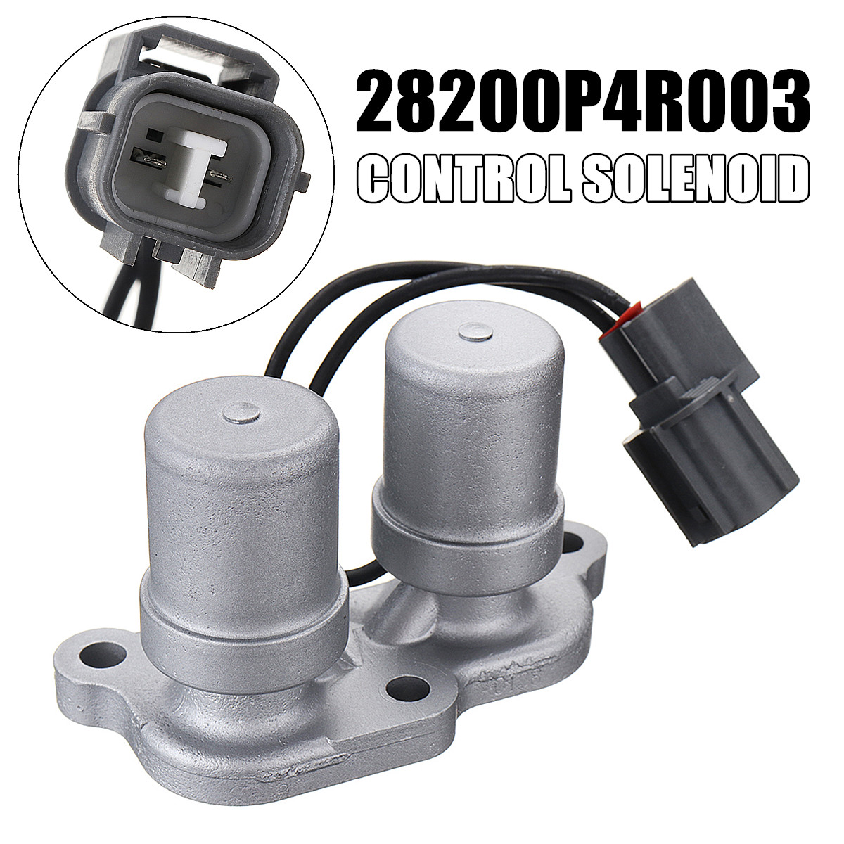 28200-P4R-003 Automatic Transmission Shift Control Solenoid 89x37x54mm For Honda-Civic 1996-2000 Auto Replacement Parts
