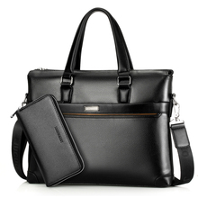 купить Business Men Bags Laptop Tote Briefcases Male Crossbody Bags Shoulder Handbag High Quality Men's Messenger Bag дешево