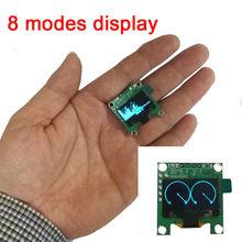 """Mini analizador de espectro de música OLED de 0,96 """", amplificador de MP3, indicador de nivel de Audio para PC, Analizador de ritmo musical Medidor de VU"""