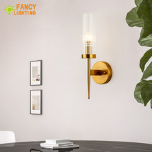 (Bulb For Free)wall lamp e14 modern led wall light sconces for home lamp bedroom decor(China)