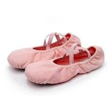 2018 Hot Sale Female Adult Canvas Soft Ballet Shoes Women Girls Ballet Pointe Dance Shoes Gym Yoga Professional Ballet Shoes