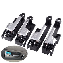 Car Stylings Exterior Door Handle Front Rear Right Left For Lincoln MKZ 07 12/Zephyr 2006/Ford Fusion 06 12/Mercury Milan 06 11