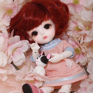 Image 5 - LCC Baby Miu 1/8 BJD SD Resin Figures Model Baby Dolls Eyes High Quality Gifts For Christmas Or Birthday