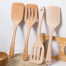 Бук Тернер деревянная лопатка кухонные аксессуары антипригарная кухонная посуда инструменты для приготовления пищи подарок деревянная Лопата x1