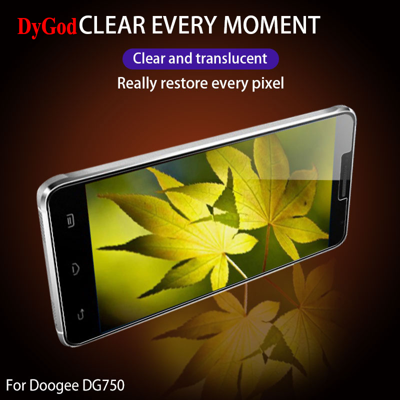 DyGod For Doogee X7 DG750 Tempered Glass Front Film Screen