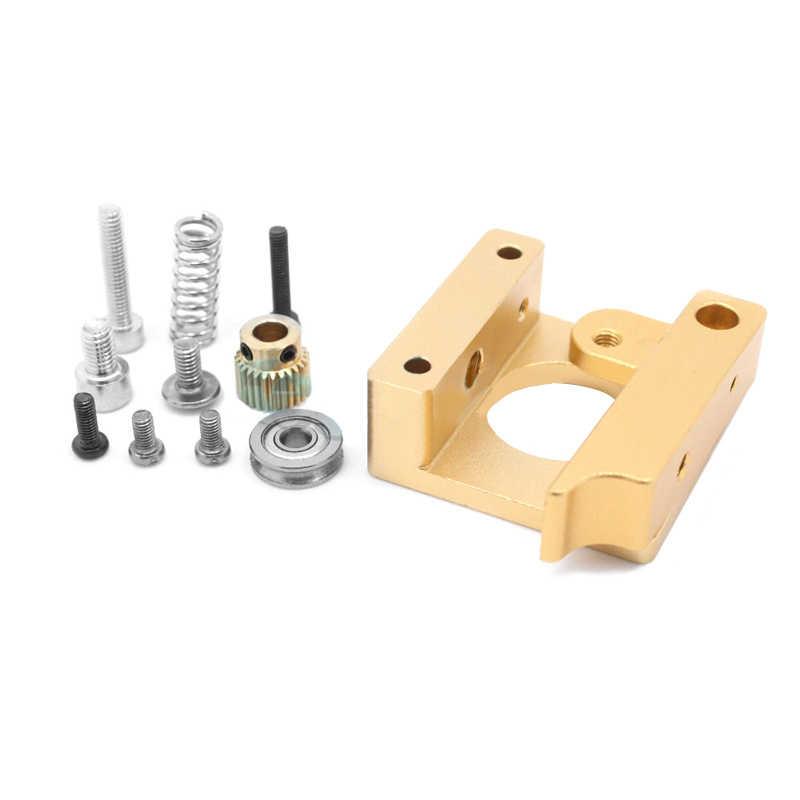 MK8 j-головка экструдер алюминиевый сплав блок экструзии правая левая короткая рука аксессуары для 1,75 мм нити экструзии 3D принтеры