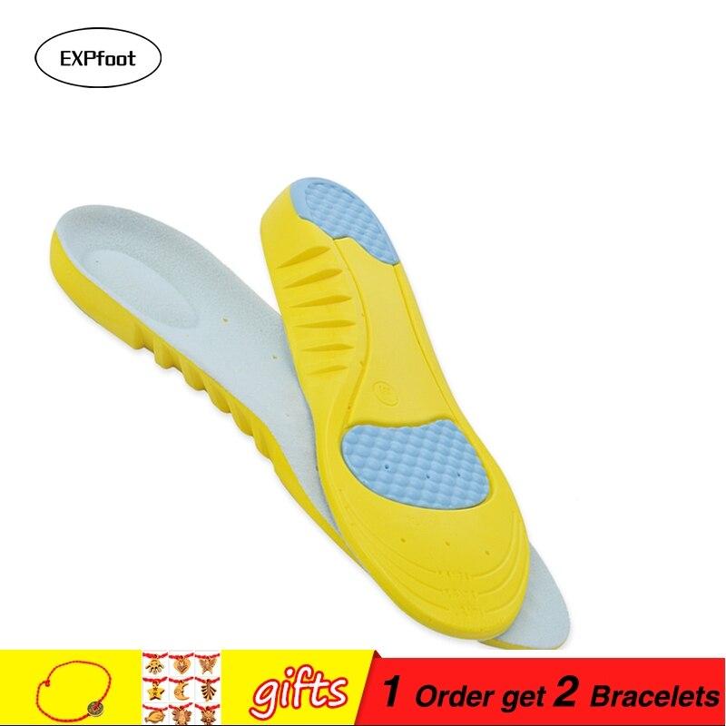 Sport lökéscsillapítók futó sportcipő betétek Arch támogatja a lélegző talpbetét lábápolást a férfiak és nők számára